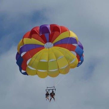 Parachute Ascensionnel au Cap-Ferret