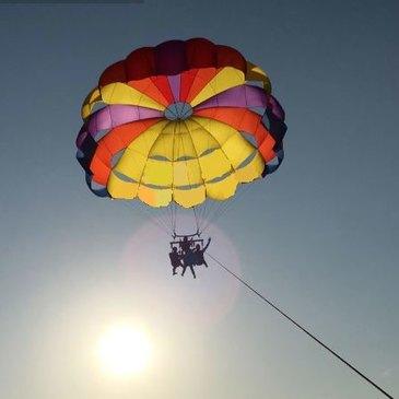 Cap-Ferret, Gironde (33) - Parachute Ascensionnel