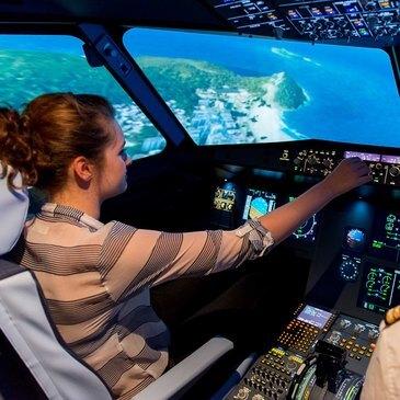 Simulateur de Vol en Avion de Ligne à Aix-en-Provence
