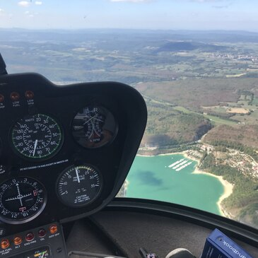 Stage initiation hélicoptère proche Aérodrome de Bourg-en-Bresse
