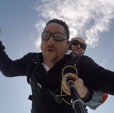 Saut en parachute, département Ariège