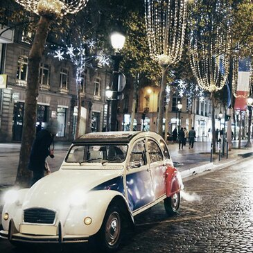 Balade Nocturne en 2CV à Paris