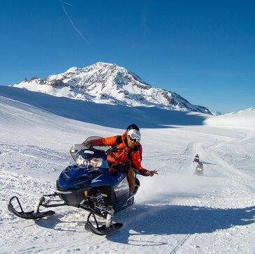 Découverte Pilotage de Motoneige à Val-d'Isère