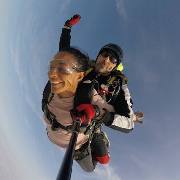 Saut en Parachute Tandem à Épernay