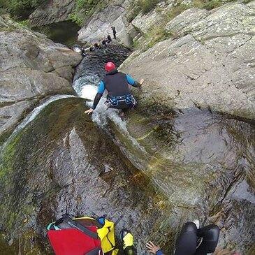 Thuès, à 30 min de Font-Romeu, Pyrénées orientales (66) - Canyoning