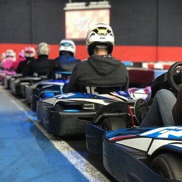 Sessions de Karting Indoor à Nantes