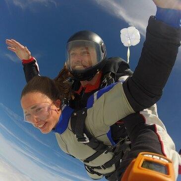 Saut en Parachute Tandem près de Chartres
