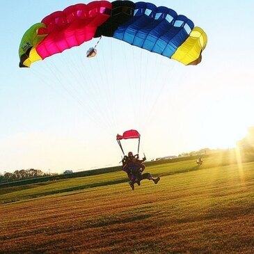 Saut en parachute proche Aérodrome de Blois-Le Breuil, à 1h30 de Chartres