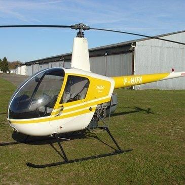 Pilotage d'Hélicoptère Robinson à Nancy