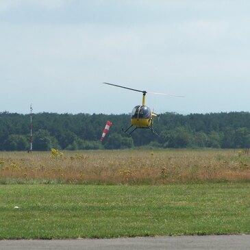 Stage initiation hélicoptère proche Aéroport de Nancy-Essey