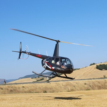 Baptême de l'air hélicoptère, département Côte d'or