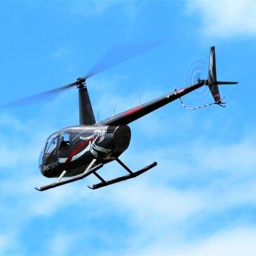 Aérodrome de chalon Champforgueil, à 30 min de Beaune, Côte d'or (21) - Baptême de l'air hélicoptère
