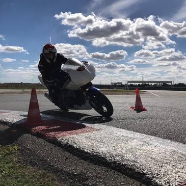 Initiation au Pilotage Moto Enfant - Circuit de Dreux
