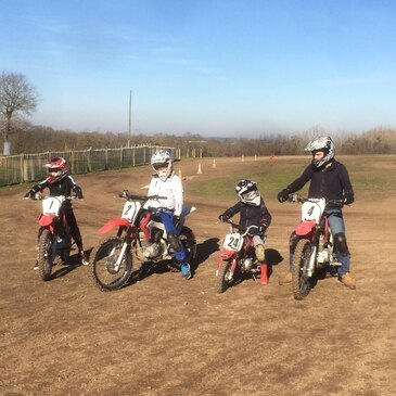 Initiation au Moto-Cross près de Saint-Brieuc
