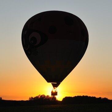 Mesnil-Saint-Père, à 1h de Langres, Haute marne (52) - Baptême de l'air montgolfière