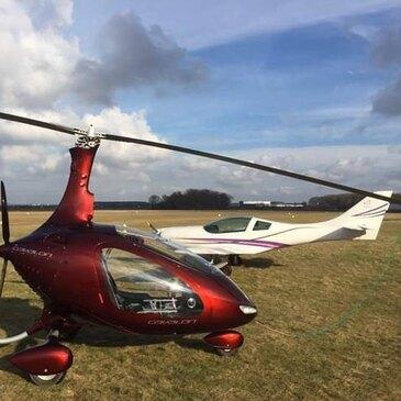 Pilotage ULM en région Nord-Pas-de-Calais