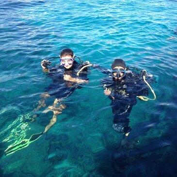 Baptême de Plongée aux Iles Sanguinaires
