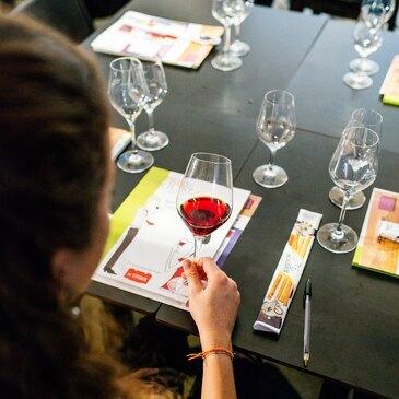 Cours d'œnologie, département Bouches du Rhône