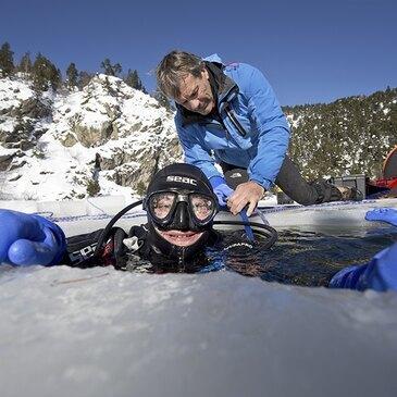Plongée sous Glace dans les Pyrénées aux Angles