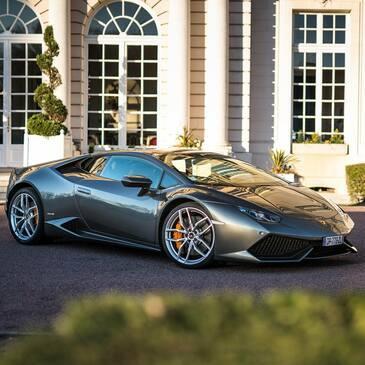 Baptême sur Route en Lamborghini Huracan à Tours