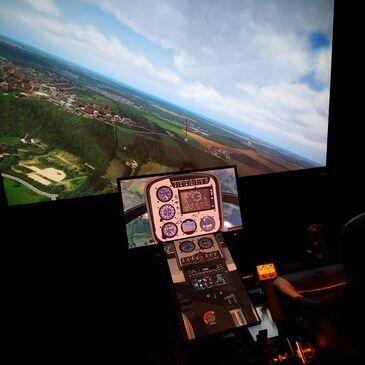 Simulateur de Vol, département Yvelines
