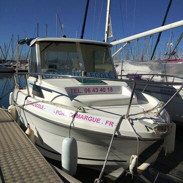 Permis bateau, département Gard