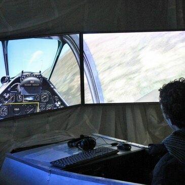 Simulateur de Vol en Avion à Biscarrosse