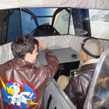 Simulateur de Vol, département Landes
