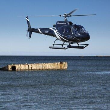 Week-end Survol des Plages du Débarquement en Hélicoptère