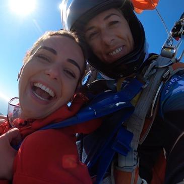 Saut en parachute en région Aquitaine