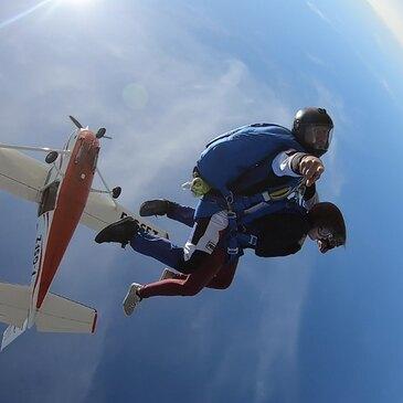 Saut en Parachute Tandem à Soulac-sur-Mer en région Aquitaine