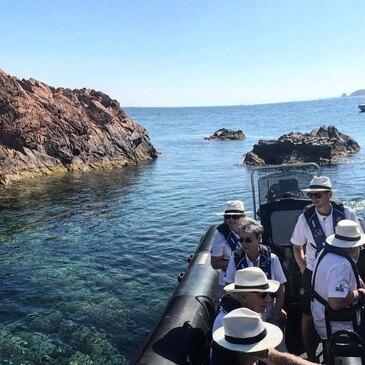 Balade en bateau, département Alpes Maritimes
