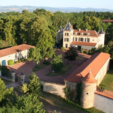 Nuit au Château de Champlong à Roanne