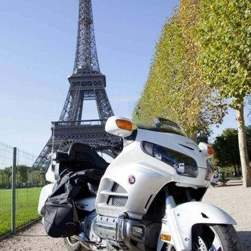 Balade à Moto à Paris
