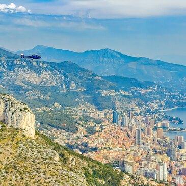 Baptême en Hélicoptère à Monaco