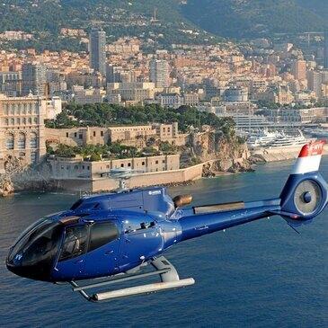 Baptême de l'air hélicoptère proche Héliport de Monaco