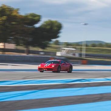 Baptême en Ferrari 458 Spider sur le Circuit d'Albi