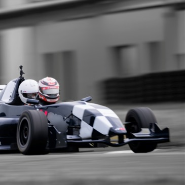 Baptême en Formule 1, département Vendée