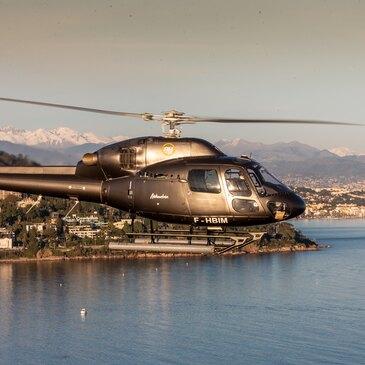 Week-end Baptême en Hélicoptère à Cannes