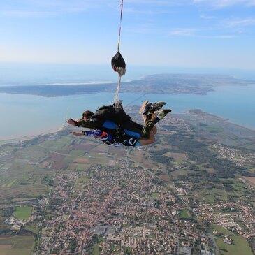 Week end Saut en Parachute en Tandem à l'Île d'Oléron