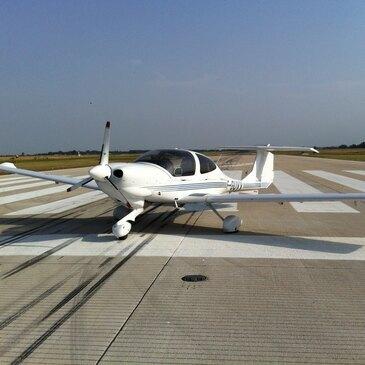 Aéroport Nancy-Essey, Meurthe et moselle (54) - Stage initiation avion