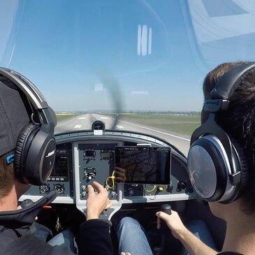 Pilotage ULM, département Rhône