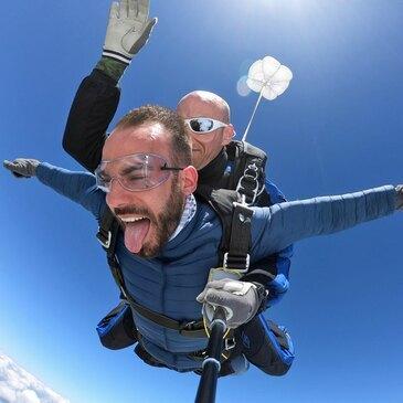 Saut en parachute, département Ille et vilaine