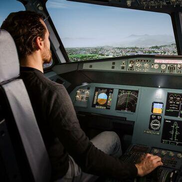 Simulateur de Vol en Avion de Ligne à Bruxelles