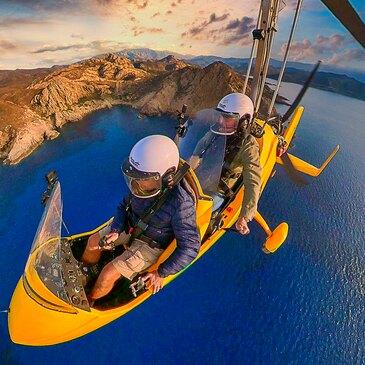 Baptême en ULM et Autogire, département Haute Corse