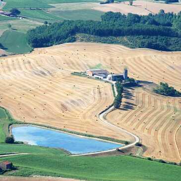 Saint-Lieux-les-Laveur, à 30 min de Toulouse, Haute Garonne (31) - Baptême de l'air paramoteur