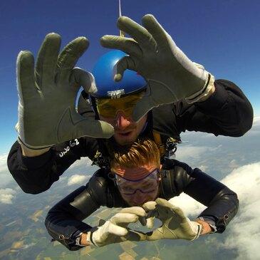 Saut en parachute, département Oise