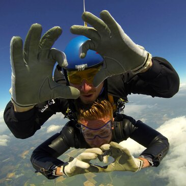 Saut en parachute en région Picardie