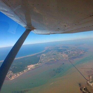 Saut en parachute, département Charente maritime