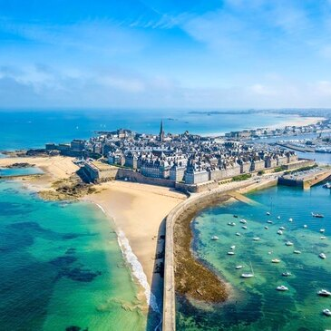 Week-end Baptême en Hélicoptère à Saint-Malo